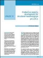 UNLDC IV Productive capacity development for structural transformation of LDCs