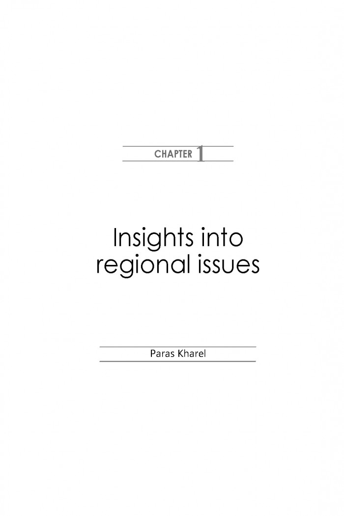 Insights into regional issues