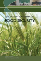CIVIL SOCIETY STATEMENT ON FOOD SECURITY